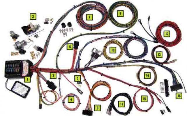 jamco parts electrical universal 19 circuit builder kit wiring rh jamcosuspension com Trailer Wiring Harness Wiring Harness Diagram