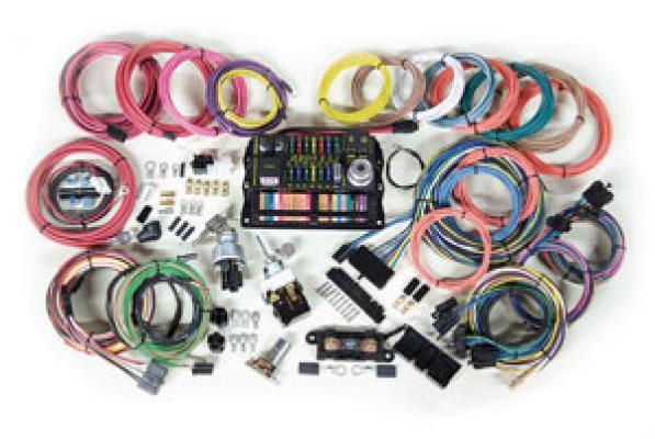 jamco parts electrical universal 22 circuit highway series wiring rh jamcosuspension com speedway motors universal automotive retrofit 22 circuit wiring harness Wiring Harness Diagram