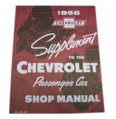 1956 CHEVY CAR SHOP MANUAL SUPPLEMENT