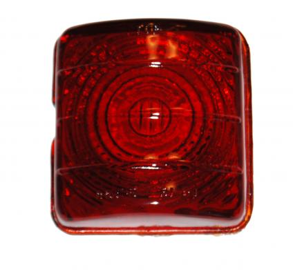 1951-52 CHEVY TAIL LIGHT LENS - GLASS
