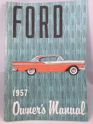 1957 FORD OWNERS MANUAL