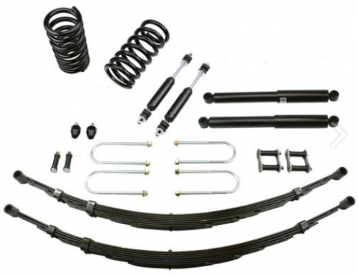 1963-66 FORD THUNDERBIRD DELUXE LOWERING KIT