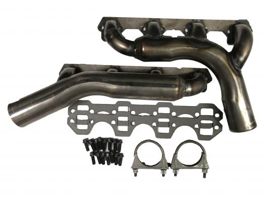 Jamco Parts - Exhaust Headers Inside Frame Rail , Ford Small Block
