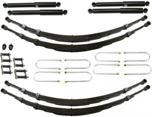 1955-59 CHEVY & GMC TRUCK DELUXE LOWERING KIT