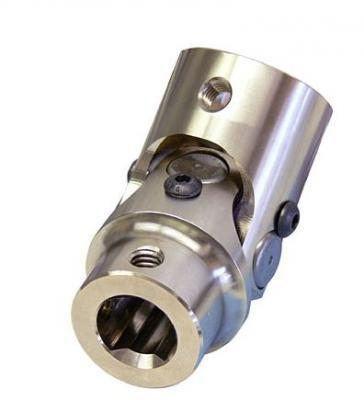 3/4 INCH-36 SPLINE X 3/4 INCH DD U-JOINT STAINLESS STEEL