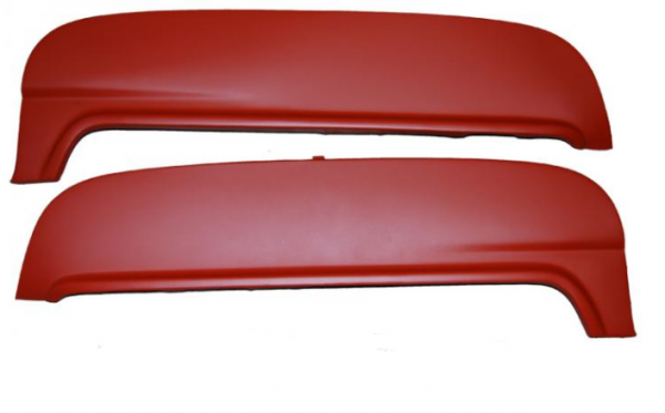 1952-54 FORD AND MERCURY STEEL FENDER SKIRT (OUTSIDE MOUNT)