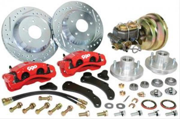 1961-68 CADILLAC CUSTOM COMPLETE FRONT BIG BRAKE KIT