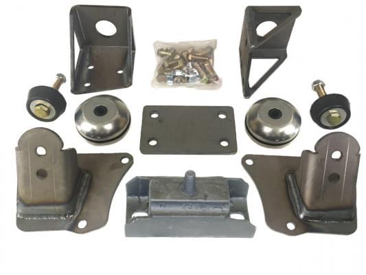 1949-51 MERCURY SMALL BLOCK CHEVROLET BOLT-IN ENGINE CONVERSION KIT