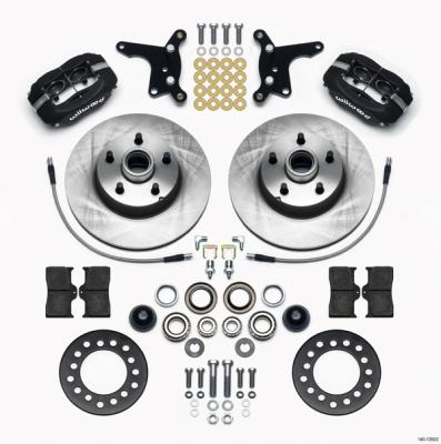 1955-57 Ford Thunderbird - Wilwood Classic Series Dynalite Front Brake Kit