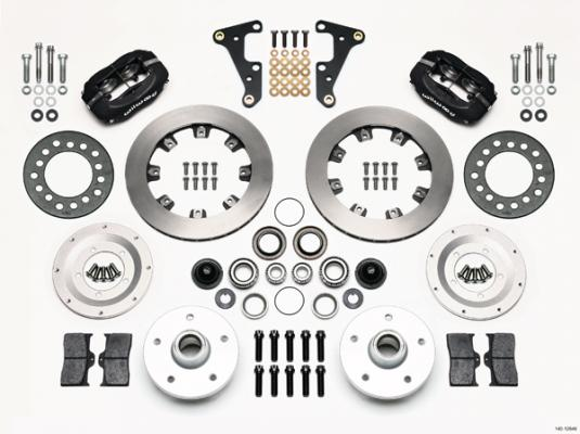 1941-55 CADILLAC - WILWOOD FORGED DYNALITE PRO SERIES FRONT BRAKE KIT