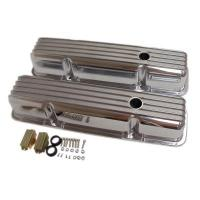 SMALL BLOCK CHEVY FINNED VALVE COVERS - TALL