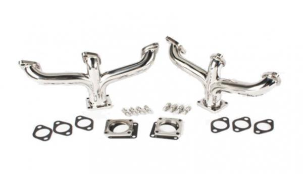Flathead Ford V8 Center Dump Headers