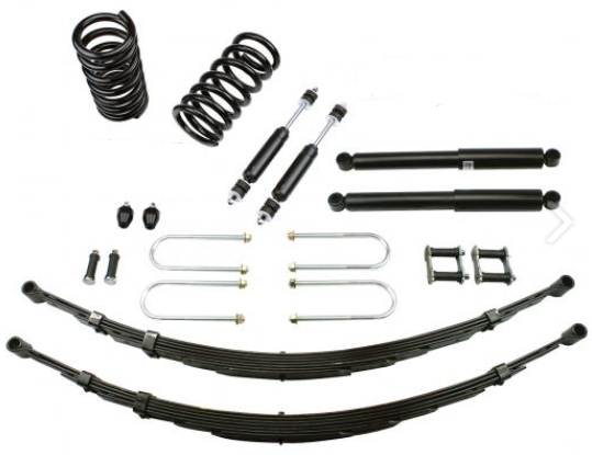 1959-60 MERCURY DELUXE LOWERING KIT