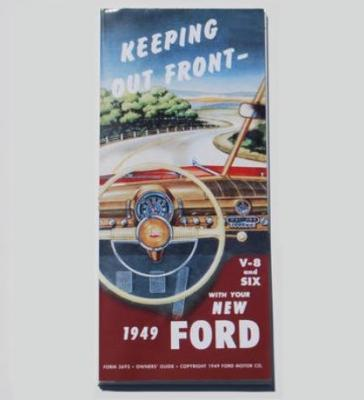 1949 FORD OWNERS MANUAL