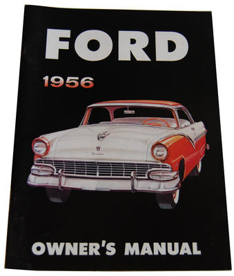 1956 FORD OWNERS MANUAL