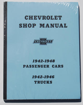 1942-48 CHEVY car and truck SHOP MANUAL