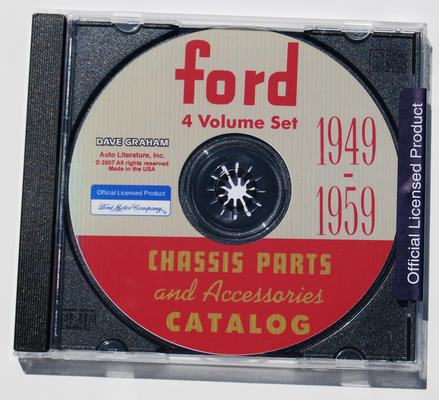 1949-59 FORD CHASSIS & ACCESSORIES CD
