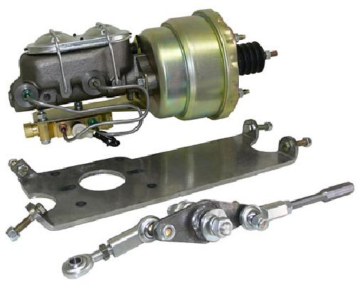 1949-51 MERCURY POWER BRAKE CONVERSION