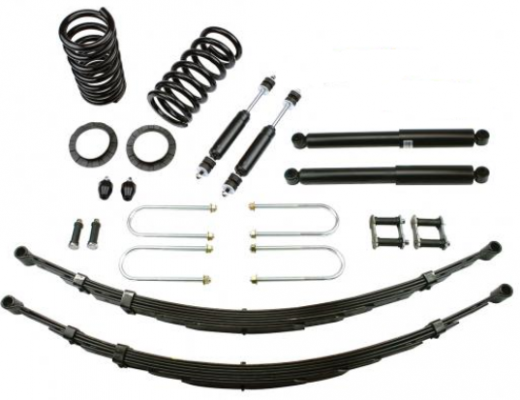 1955-57 FORD THUNDERBIRD DELUXE LOWERING KIT